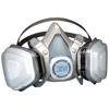 Dual Cartridge Respirator Assembly, Organic Vapor/P95