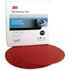 Red Abrasive Hookit� Discs and Sheets