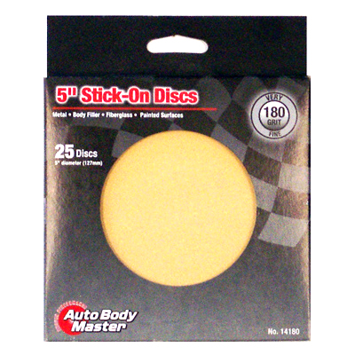 Anti-Clog Aluminum Oxide Stick-On Discs