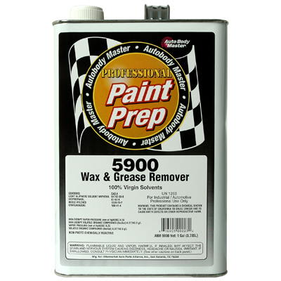 Paint Prep Wax and Grease Remover