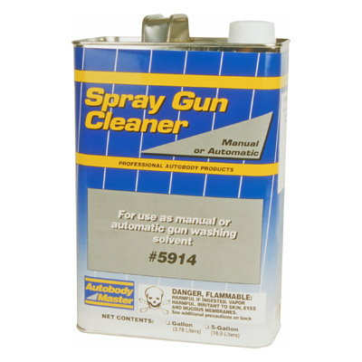 Spray Gun Cleaning Solvent