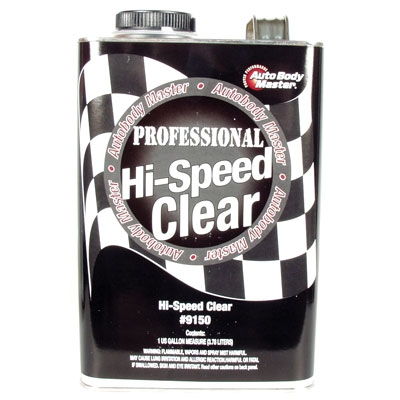 Professional Hi-Speed Clearcoat and Catalyst