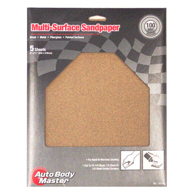 Aluminum Oxide Multi-Surface Sandpaper