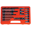 25-Piece Screw Extractor / Drill and Guide Set