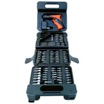 Cordless Screwdriver with 100 Bits & Sockets