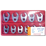 11-Piece Metric Crowfoot Wrench Set
