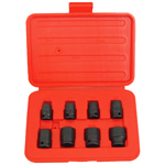 6 Point Standard Impact Socket Set, 8 Piece