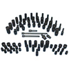 71-pc. 1/4 in Drive SAE & Metric Impact Socket Set