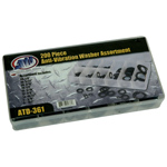 200-Piece Anti-Vibration Washer Assortment