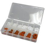200-Piece Fiber and Nylon Washer Assortment