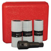 4-pc. 1/2 in Drive Protective Wheel Nut Impact Socket Set