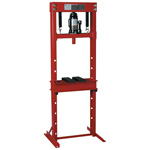 Hydraulic Shop Press with Bottle Jack