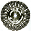 Twisted Tuft Wire Wheel Brush