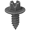 Slotted Hex Head License Plate Screw