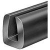 Rubber Glass Setting Channel