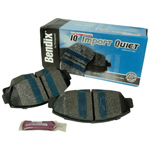 Import IQ Quiet Semi-Metallic Disc Pads