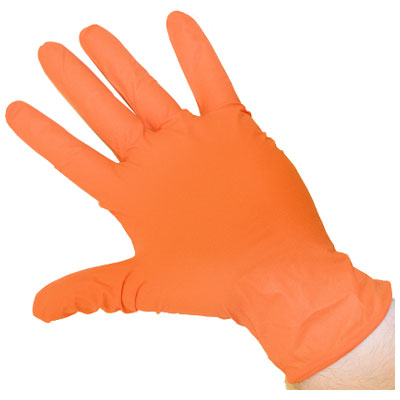 Orange Latex Gloves 31