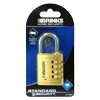 Brinks 1-9/16 in(40mm) Solid Brass Combination Lock