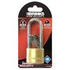 Brinks Solid Brass 40mm Padlock (2.5 in shank)