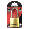 Brinks Brass Padlock with resettable combination and 2in shackle