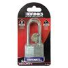 Brinks Laminated Steel Padlock, 2-1/2in shackle