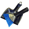 Deluxe Dust Pan with Heavy Duty Brush