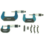 3-Piece Conventional Micrometer Set