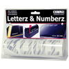 Adhesive Letter and Number Kit