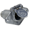 4 Pole Electrical Trailer Socket with Terminal Housing