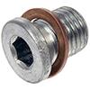 Trapped Copper Washer Oil Drain Plug