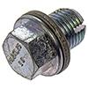 Single Oversize Oil Drain Plug