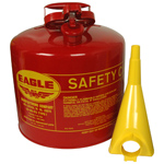 Galvanized Steel Type-I Safety Can, Gas