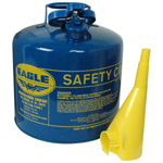 Galvanized Steel Type-I Safety Can, Kerosene