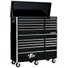 10 Drawer Top Chest & 11 Drawer Roller Cabinet Combo