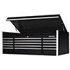 15-Drawer Triple Bank Professional Top Chest