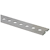 Slotted Flat Galvanized Mild Steel