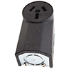 Crowfoot Wall Electrical Receptacle