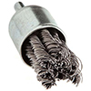 Twist Knot Wire End Brush