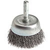 Stem Mounted Wire Cup Brush