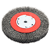 Crimped Wire Bench Wheel Brush