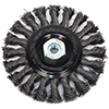 Industrial Pro� Twisted/Knotted Wire Wheel Brush