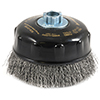 Industrial Pro� Crimped Wire Cup Brush