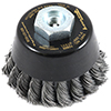 Industrial Pro� Twisted/Knotted Wire Cup Brush