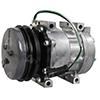 New Sanden/Sankyo SD7H13 Compressor w/ Clutch
