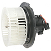 Flanged Closed CCW Blower Motor w/ Wheel