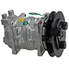 New York-Diesel Kiki-Zexel-Seltec DKS15 Compressor w/ Clutch