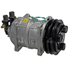 New York-Diesel Kiki-Zexel-Seltec TM15HD Compressor w/ Clutch