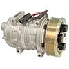 New York-Diesel Kiki-Zexel-Seltec TM21HD Compressor w/ Clutch