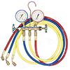 R12 Brass Fahrenheit Manifold Gauge Set