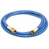 "96"" - Blue Manifold Gauge R134a Service Hose w/o Anti-Blow Back"